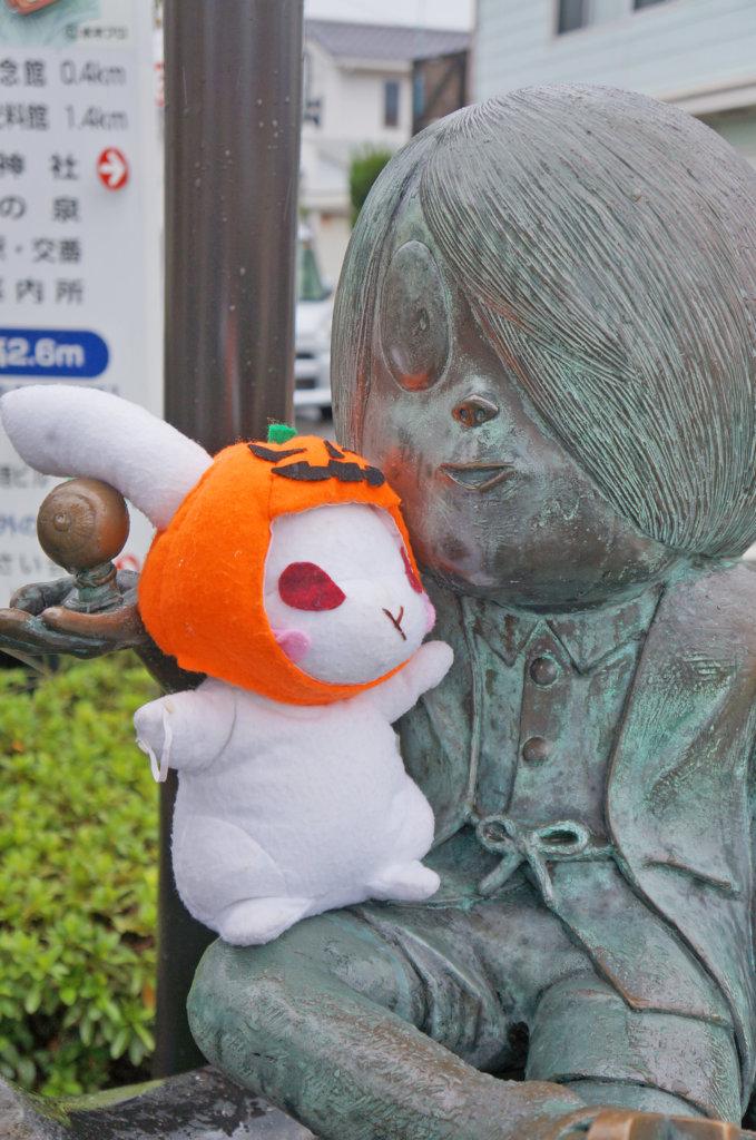 鬼太郎と葵ちゃん