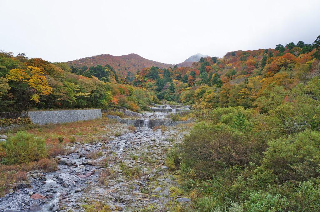 大山寺橋からの大山
